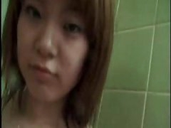 Asian Teen From Japan Take A Hot Shower