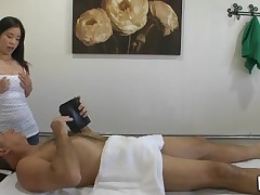 Massage can indeed include sex and our stud discovers that